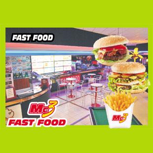 <?php echo Mc3 FAST FOOD; ?>