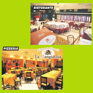 Ristorante Pizzeria<br/>LA MANGIATOIA